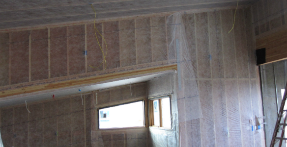 Blow-in-Blanket Insulation Before 2