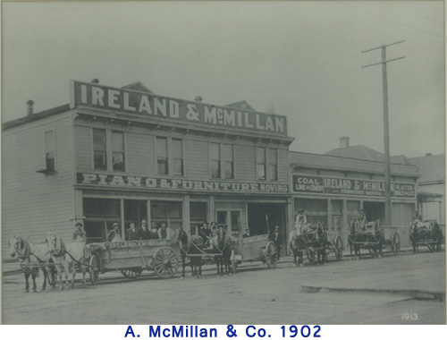 A. McMillan & Co in 1902