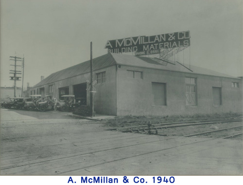 A. McMillan & Co in 1940