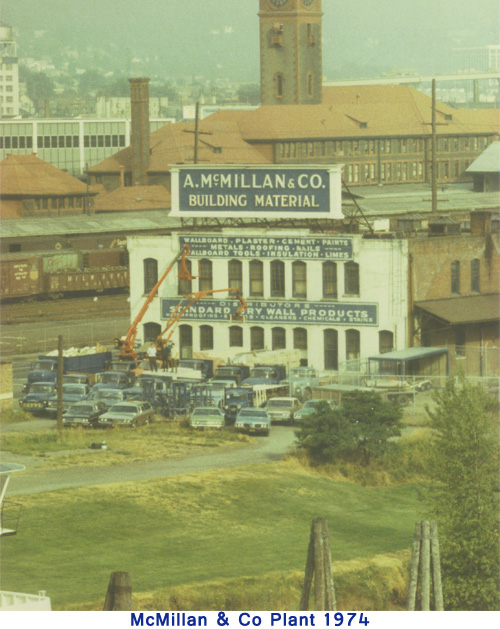 McMillan & Co Plant in 1974