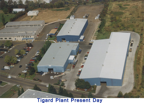Tigard Plant Present Day